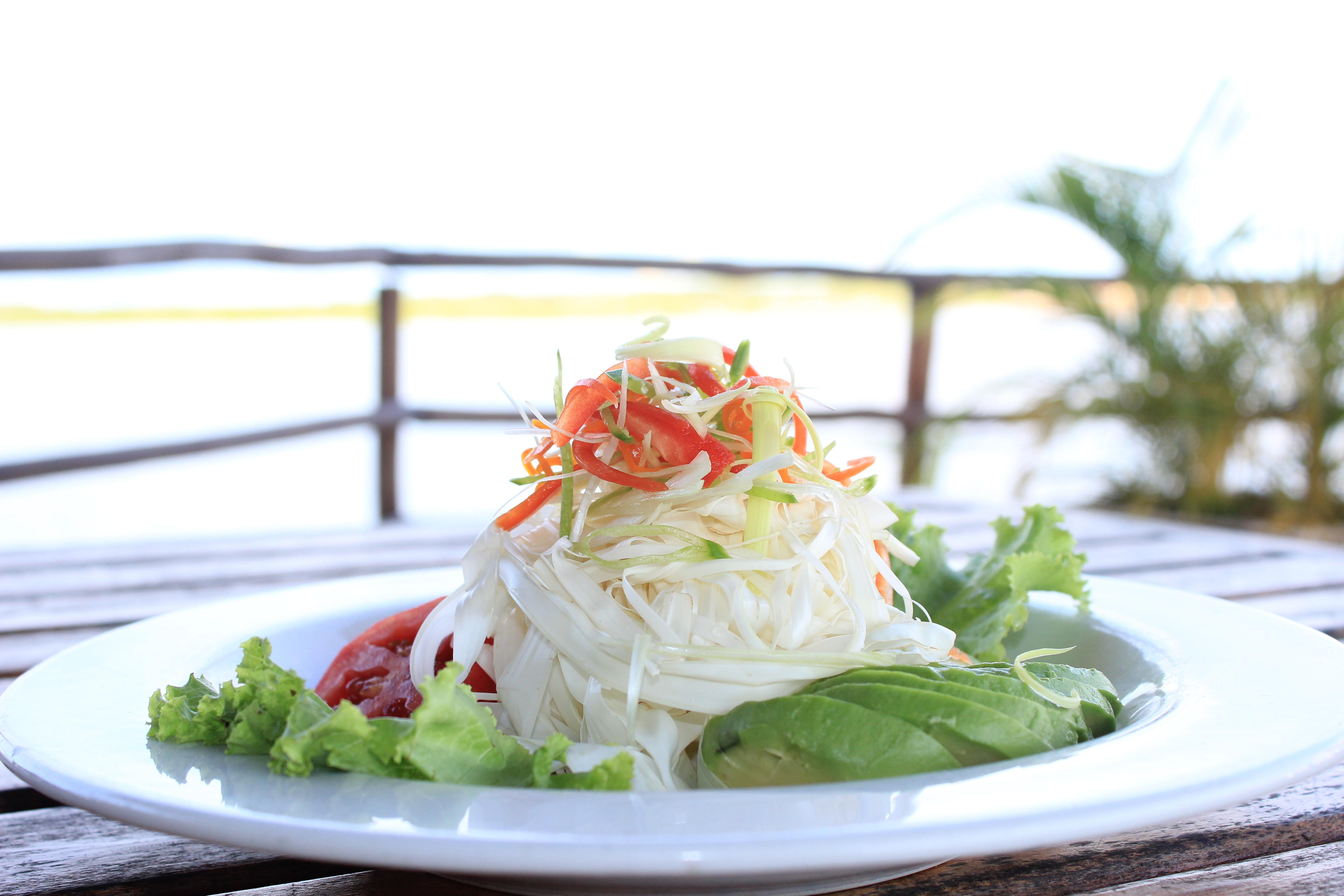 chonta salad, Al Frio y Al Fuego, Delfin