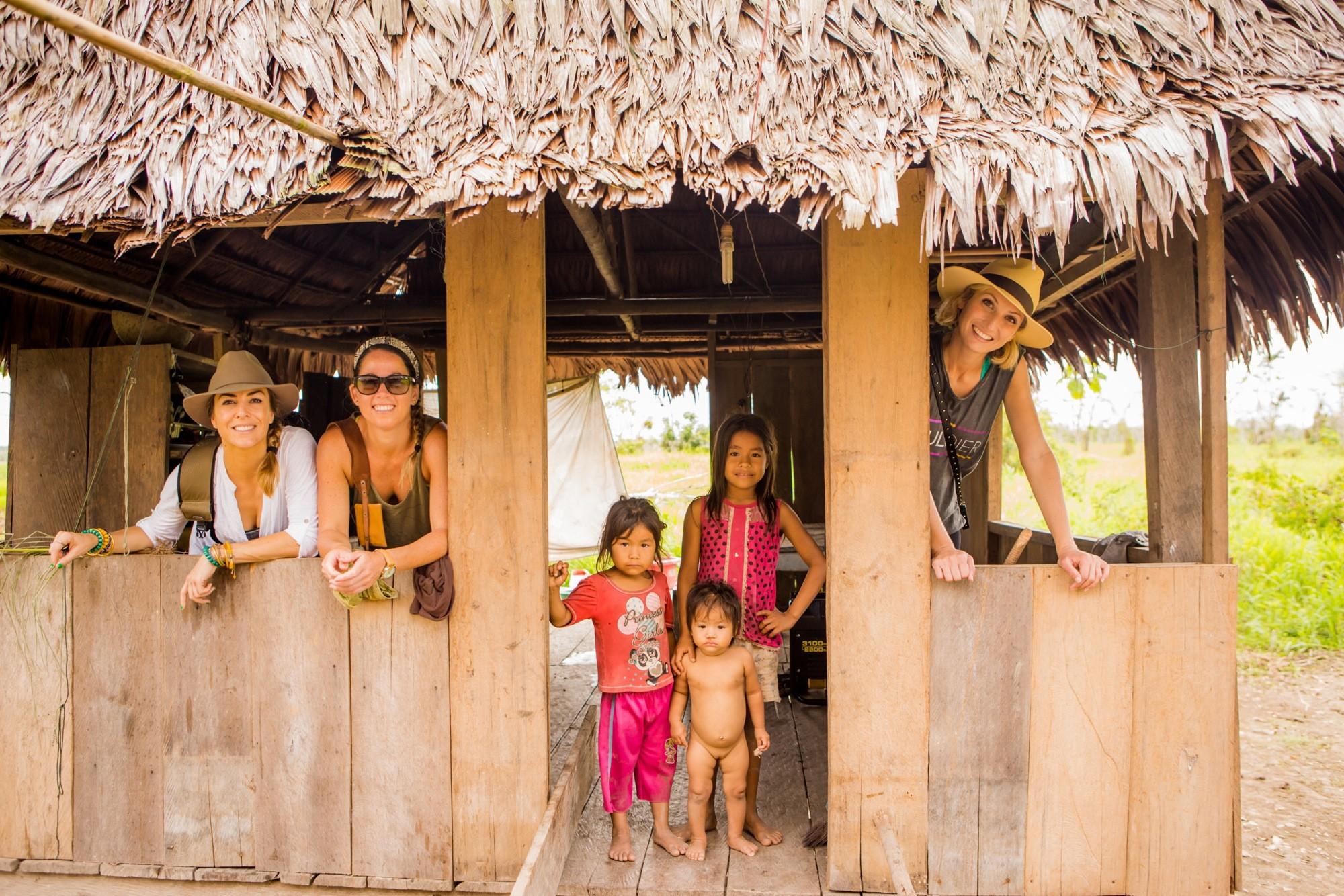 Amazon River Peru locals