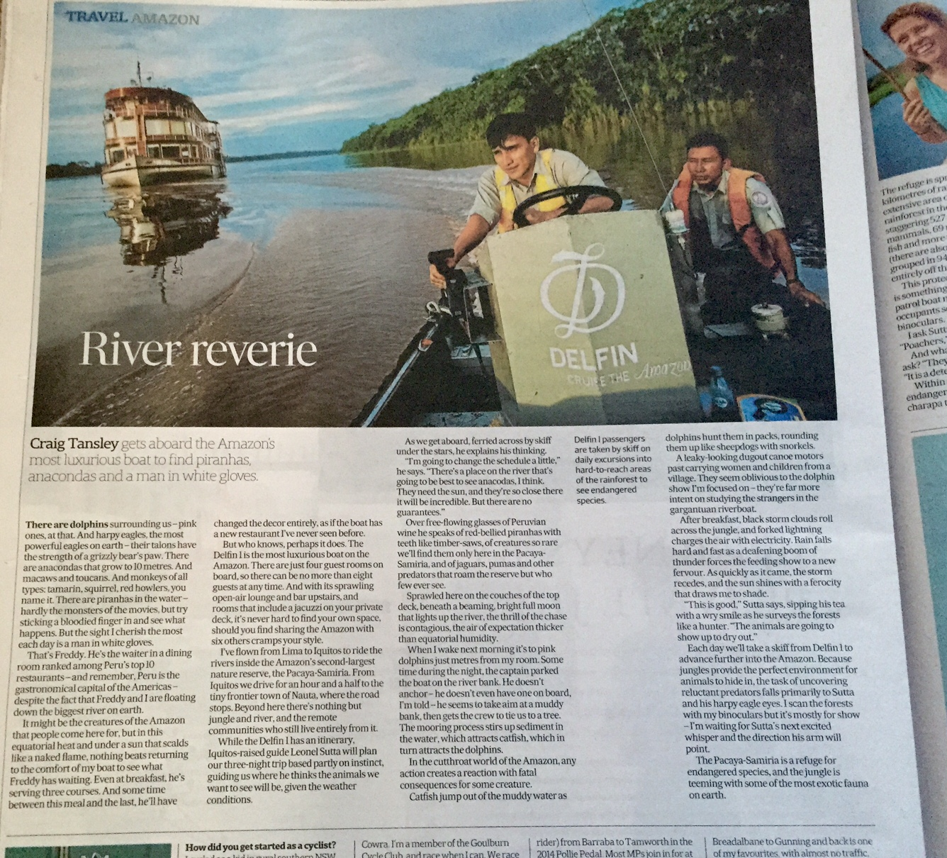 AFR Close up 1st page