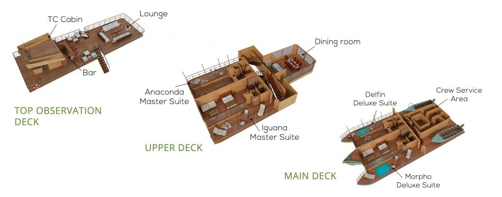 FULL DECK LAYOUT